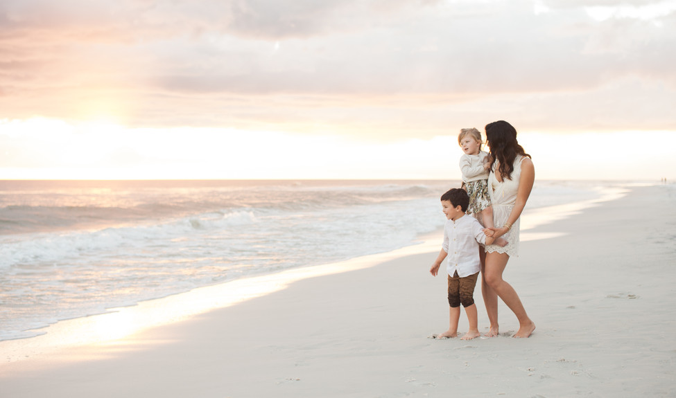 Sunset on siesta key | sarasota family photographer