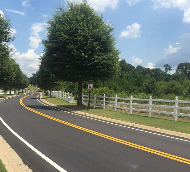 Centerline and/or Edgeline Striping