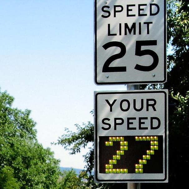 Speed Feedback Sign