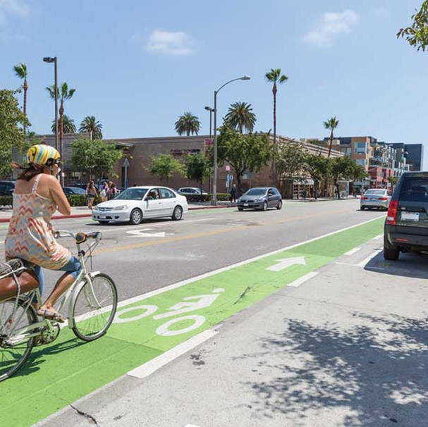 Enhanced Bike Lane