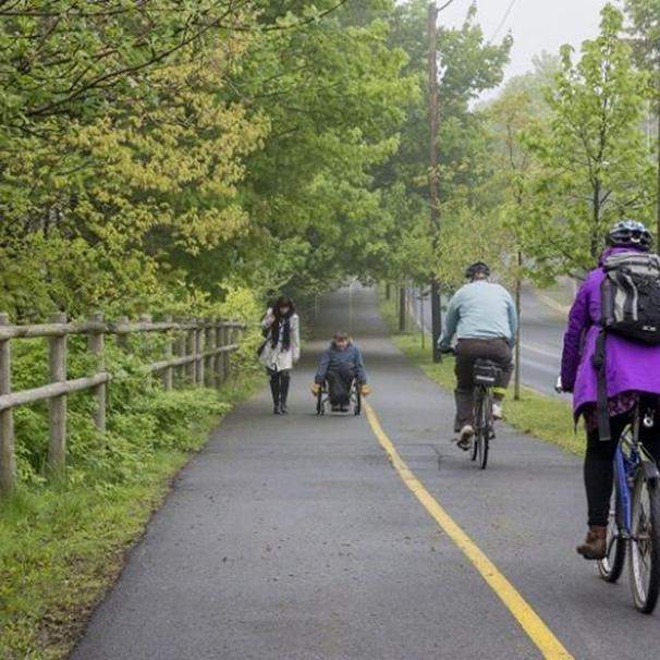 Class I Bike Path