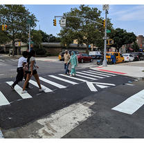 Raised Crosswalk