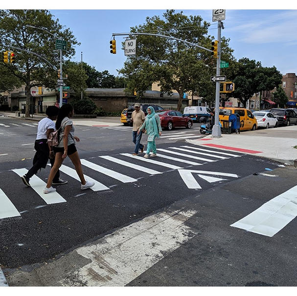 Raised Crosswalk