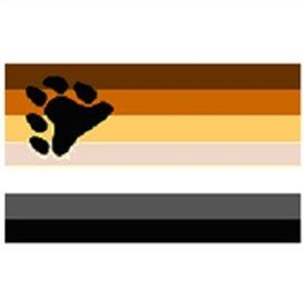 Bear Pride Flag 3 x 5 Foot