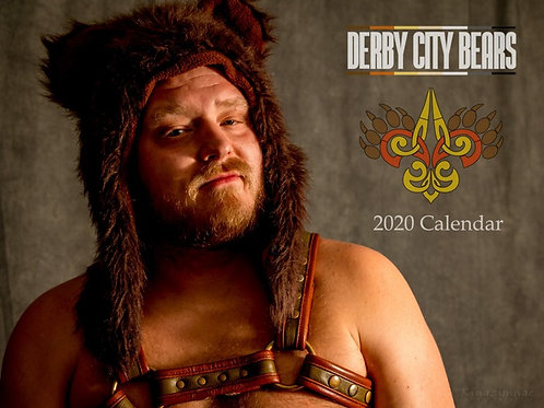 2020 Derby City Bear Calendar