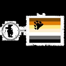 Bear Flag - Key Chain