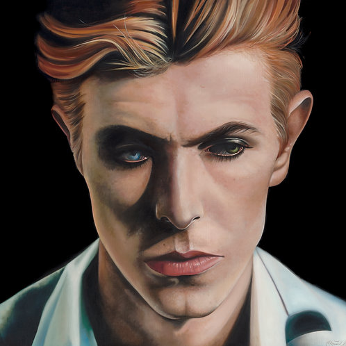 'Bowie' Digital Straight Print