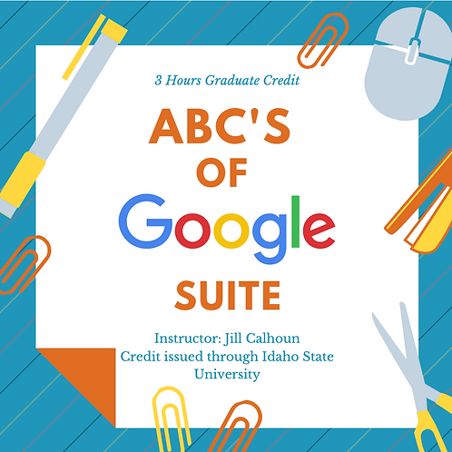 ABC's of Google Suite