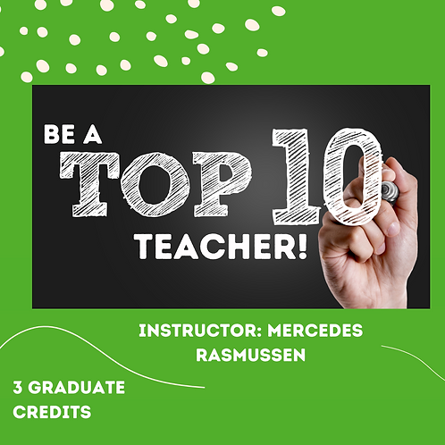 Be a Top Ten Teacher!