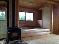 リビングの畳の部屋