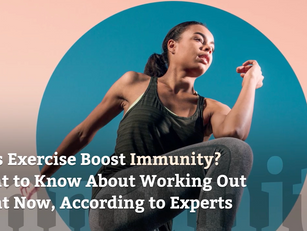 Does Exercise Boost Immunity?