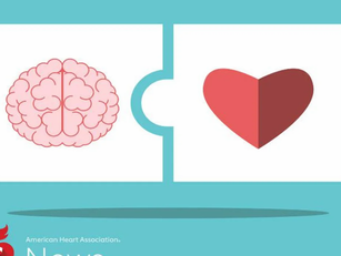AHA News: The Head Is Connected to the Heart...
