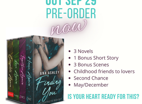 Finding You Box Set - Coming Soon