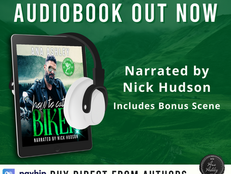 A new audiobook out now!