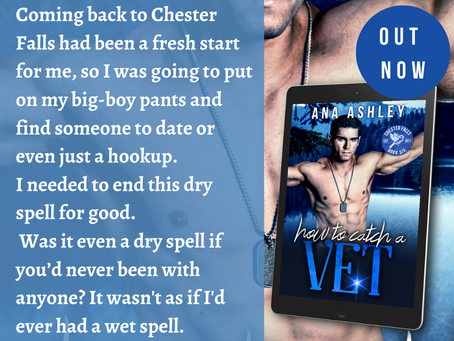 NEW RELEASE - How to Catch a Vet is out now!