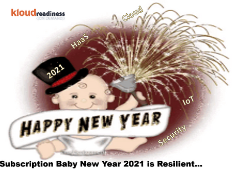 Subscription Baby New Year 2021 is Resilient…
