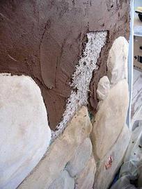 Déco terre plâtre