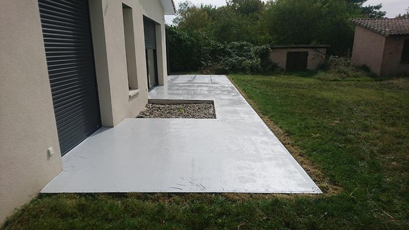 Résine étanchéité terrasse