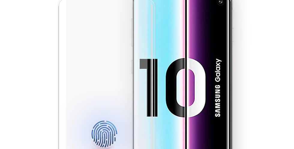 Samsung Galaxy S10 Curved hot bending full Cover Edge Glue Unlocking