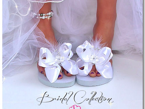 Wedding bow clips kit