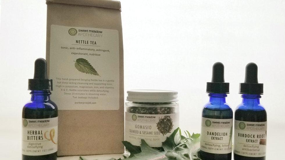 Spring Herbal CSA Share