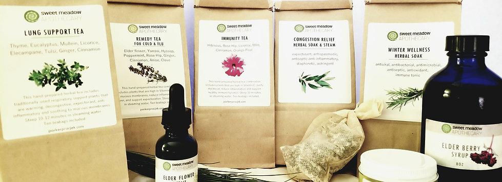 Winter Herbal CSA Share