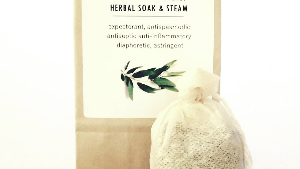 Congestion Relief Herbal Soak & Steam