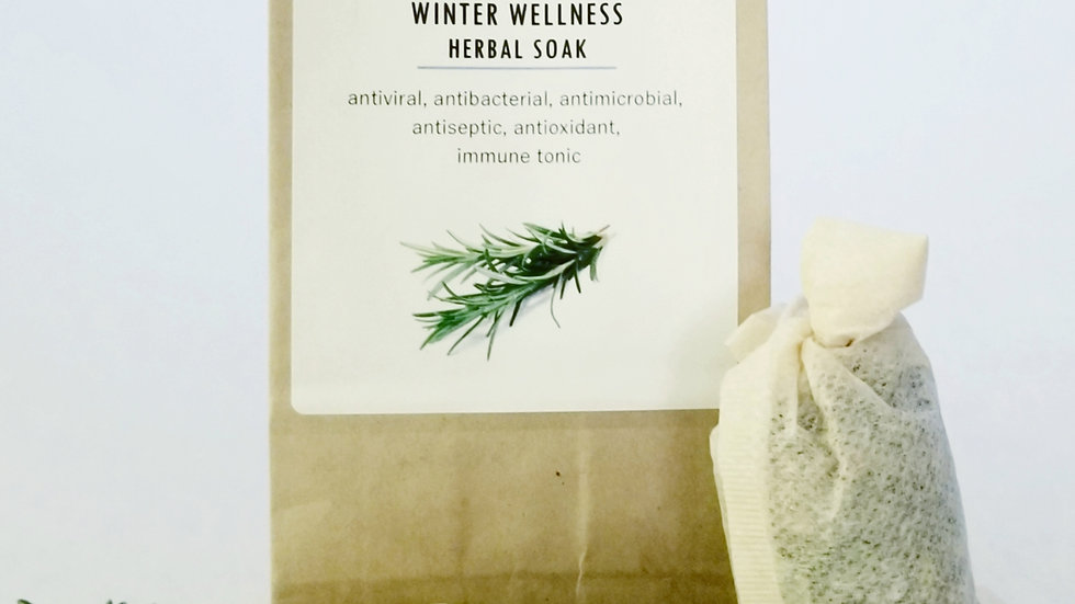 Winter Wellness Herbal Soak