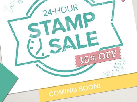 24-Hour Stamp Sale!!