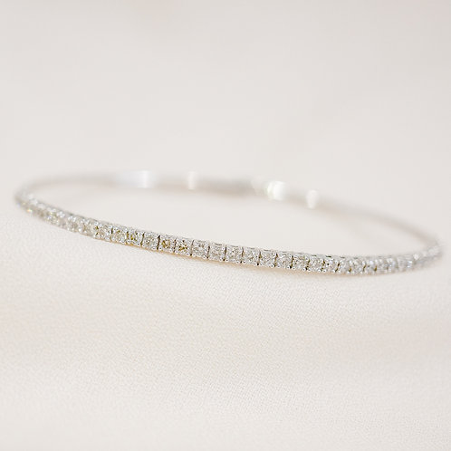 Flexible Diamond Bangle