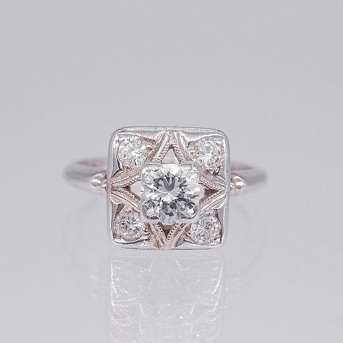 "Eleanor ""Orange Blossom"" Diamond Ring"