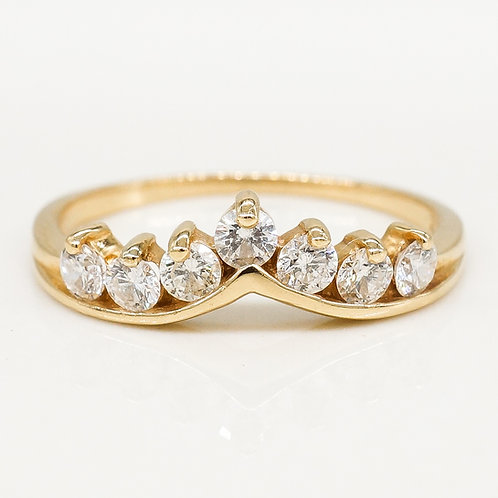 Crown Diamond Band