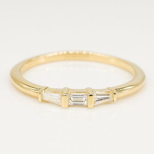 Baguette Diamond Stackable