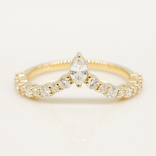 Marquise Contour Band
