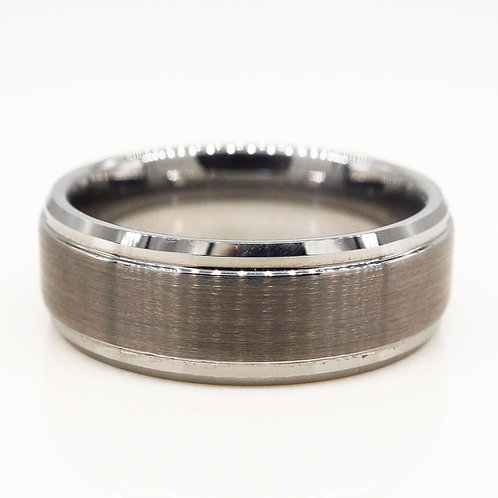 Gunmetal Tungsten Band