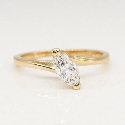 Marquise Diamond Solitaire