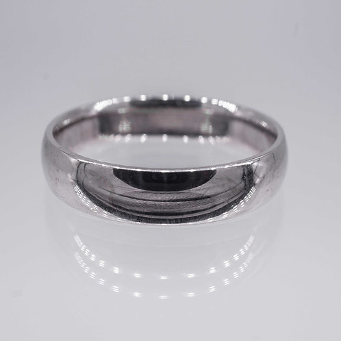 Classic White Gold Band