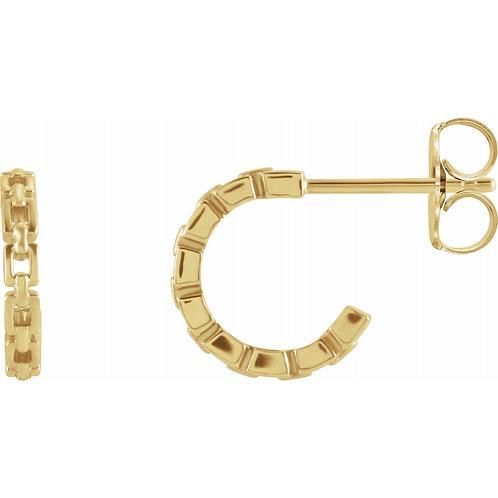 Mini Chain Link Hoops