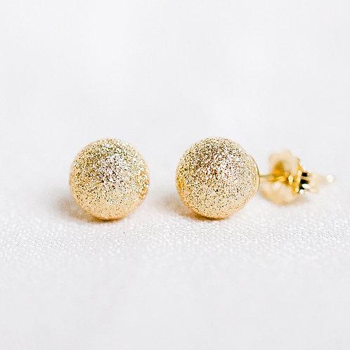 Gold Stardust Studs