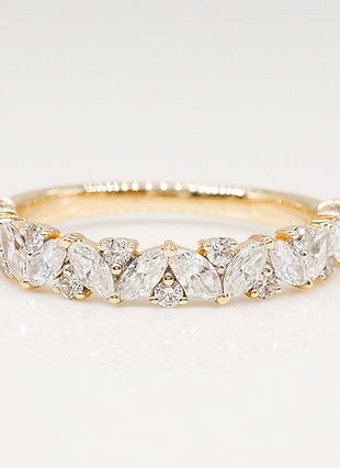 Multi-Shape Diamond Band