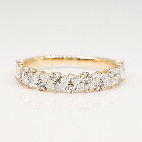 Multi-Shape Diamond Band