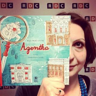 AGENTKA coraz bliżej - o książce w RDC