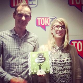 Nežka Šatkov i Poławiacze Pereł w radio TOK FM