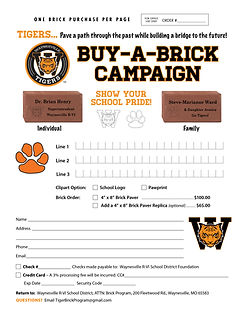 Tigers Brick Campaign February 2021.jpg