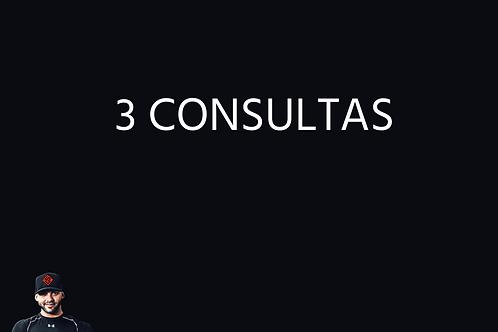 Três Consultas por Vídeo