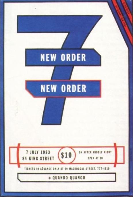 New Order, June 1983