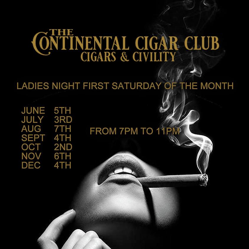 Ladies Night @TheContinentalCigarClub