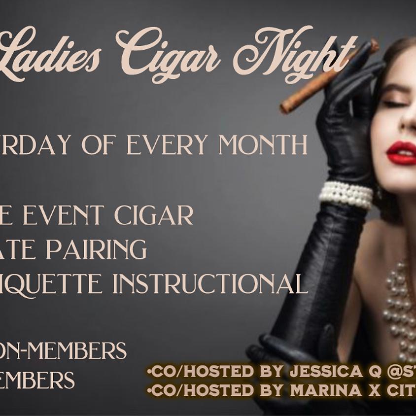 Fiery Ladies Cigar Night