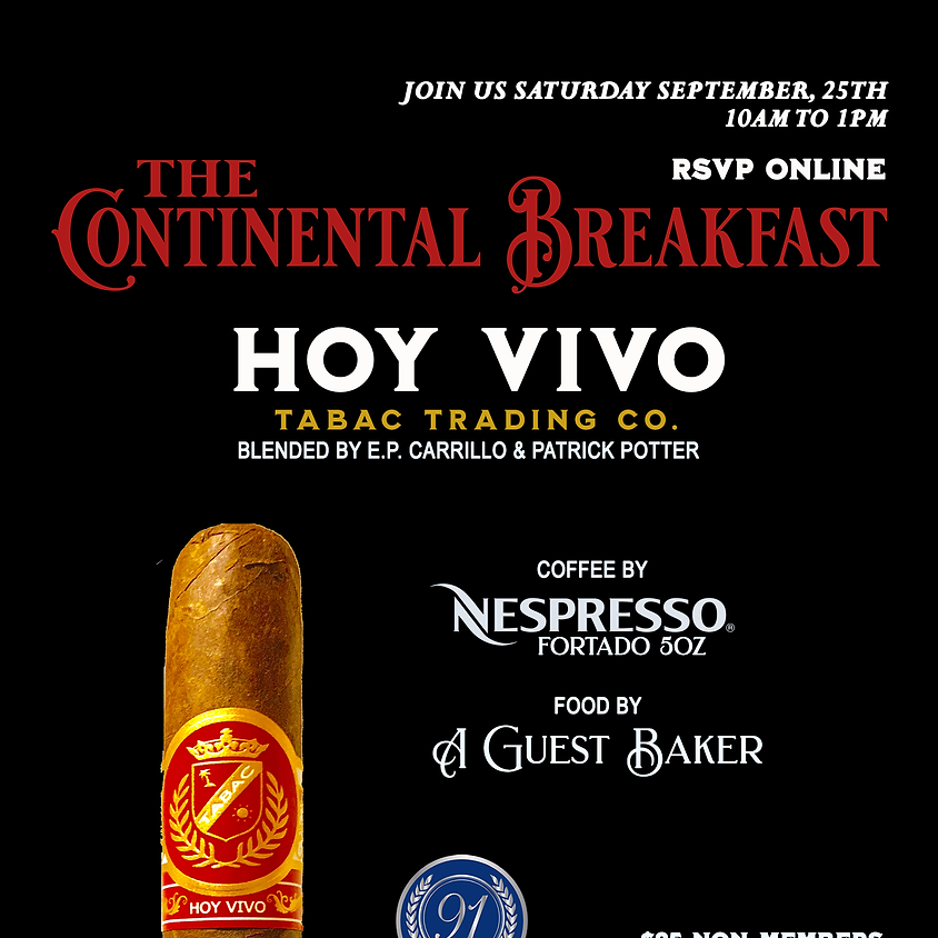 The Continental Breakfast • Featuring HOY VIVO
