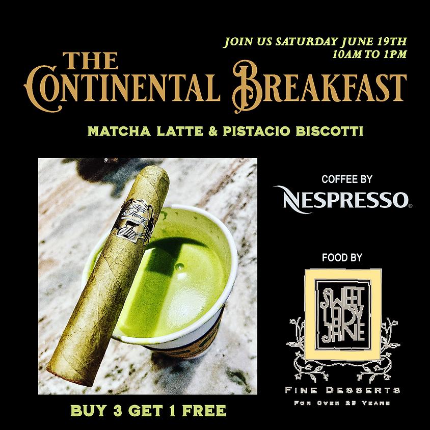 The Continental Breakfast - Milk & Honey Matcha